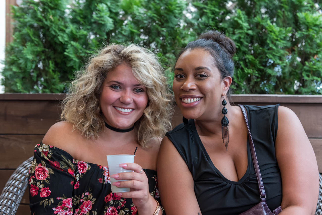 Katie Ewing and Bianca Jones / Image: Mike Menke // Published: 8.19.18