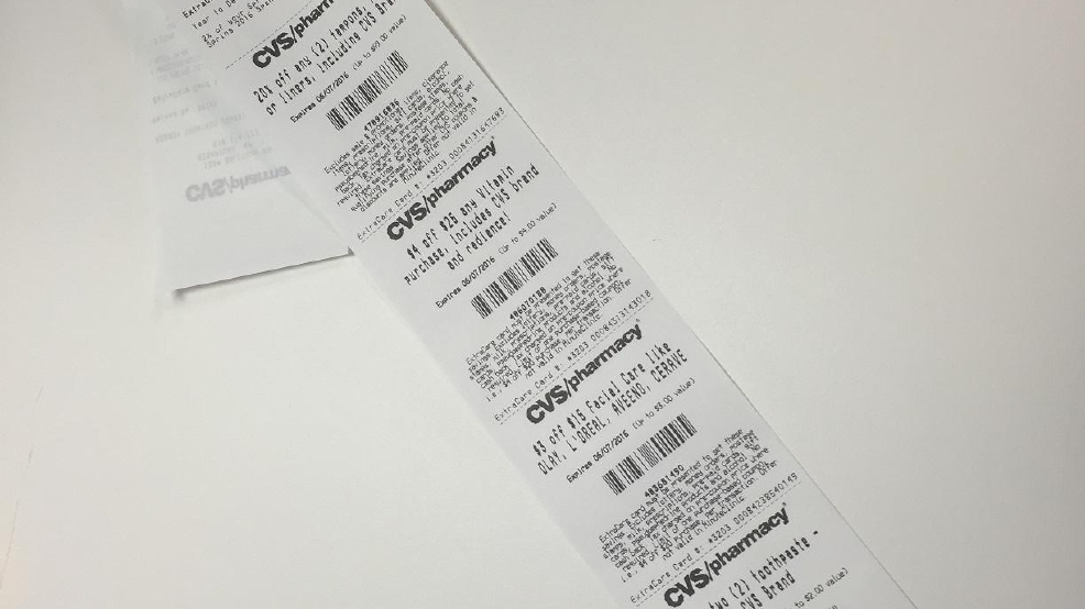 cvs pharmacy  so long  long receipts