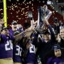 Washington smokes Colorado 41-10 to win Pac-12 title