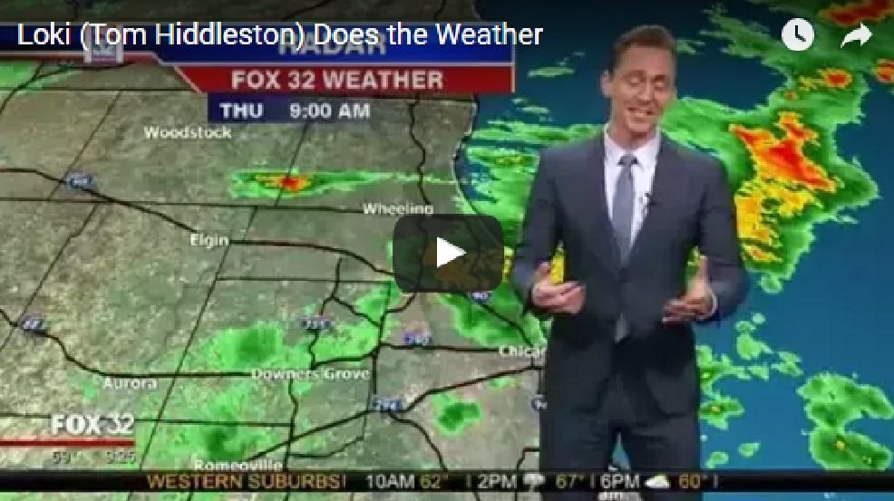 Loki gives weather forecast | KUTV