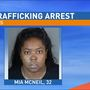 Woman wanted in sex trafficking ring arrested
