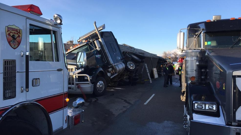 About 80 head of cattle killed in weber county semi truck for Jones motor company trucking