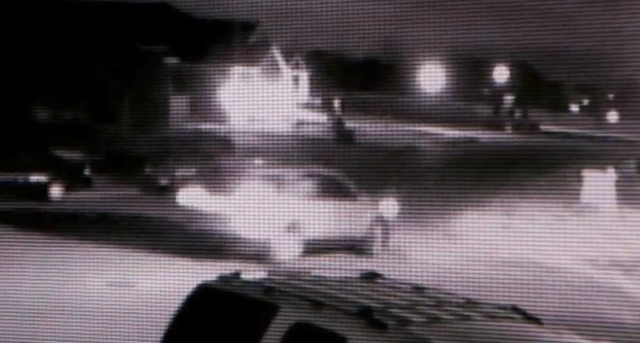 Layton Police looking for vandals who shot at cars, kicked others (Photo: KUTV)