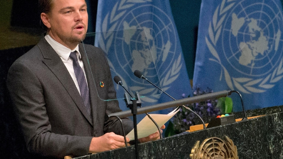 Leonardo DiCaprio foundation raises money for environment, French anti-terror group