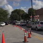 Floridians waiting in long gas lines, searching for storm prep supplies