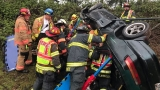 Firefighters free motorist from I-5 wreck in Kent