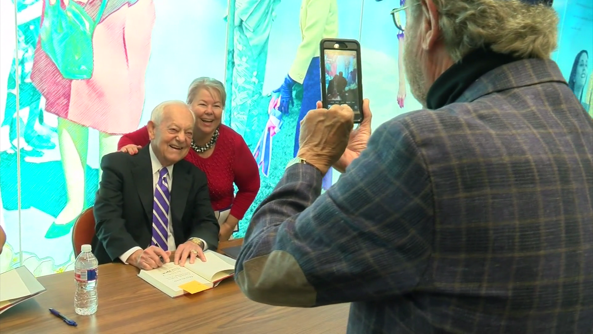 CBS News journalist Bob Schieffer was in Austin Thursday interviewing Madeleine Albright about foreign policy and diplomacy. He was also promoting his new book called, Overload: Finding Truth in Today's Deluge of News. (CBS Austin)