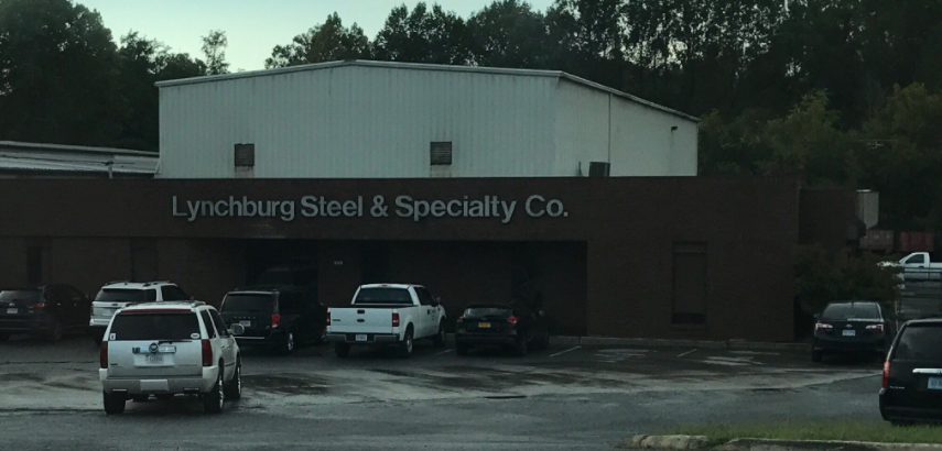 Federal agents were on the scene of Lynchburg Steel in Monroe Wednesday afternoon (Photo: WSET)