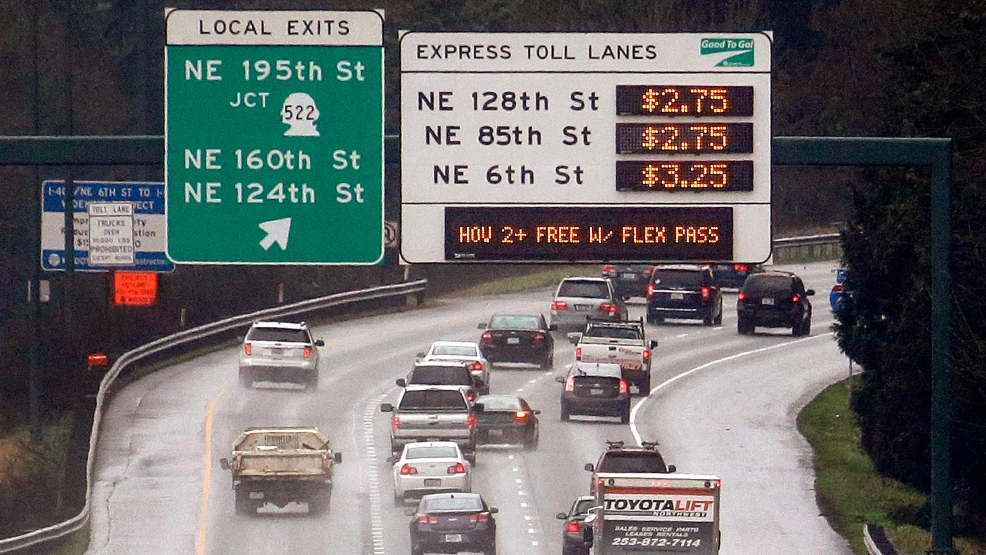 Inslee Transportation 405 Toll