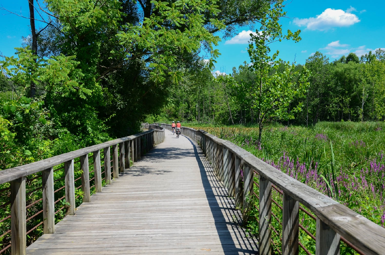 The Ohio & Erie Canal Towpath Trail / Image: Sherry Lachelle Photography