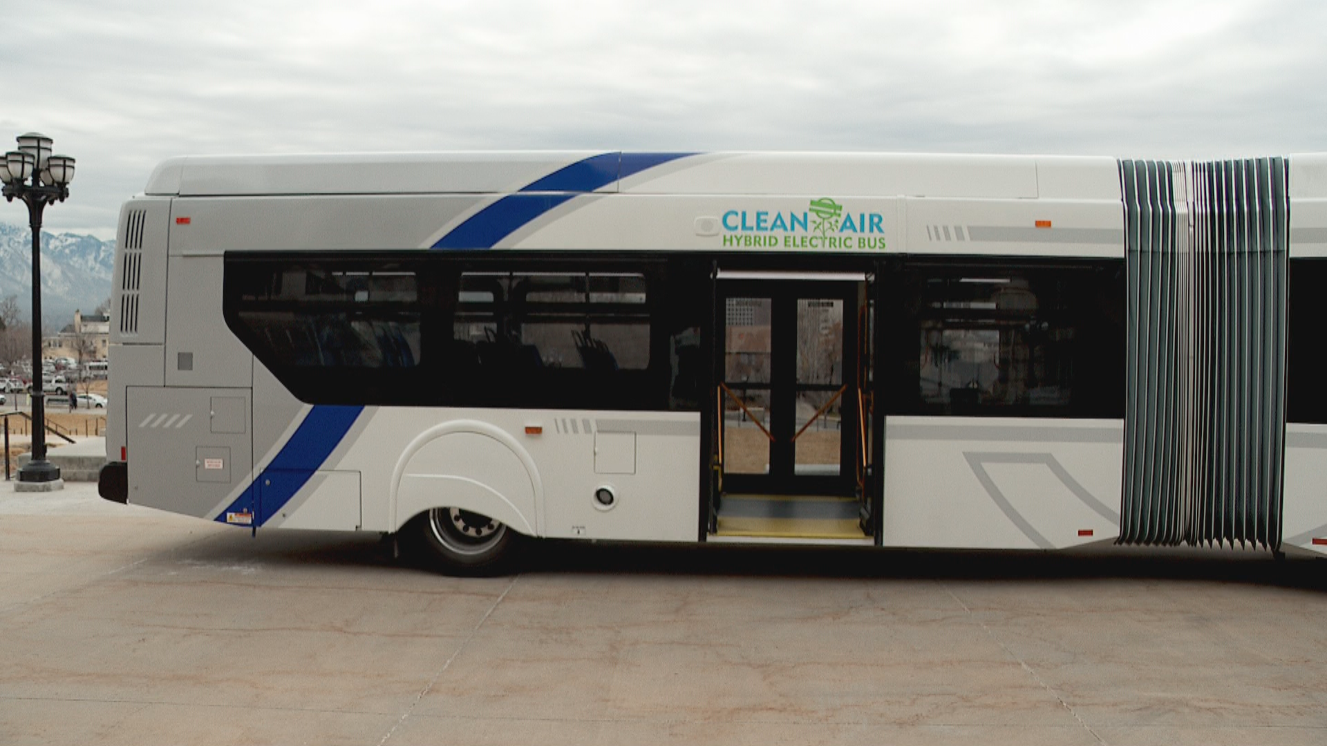 UTA introduces high-capacity, eco-friendly buses. (Photo: Morgan Saxton / KUTV)