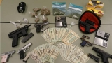 Deputies seize guns and drugs in Camden