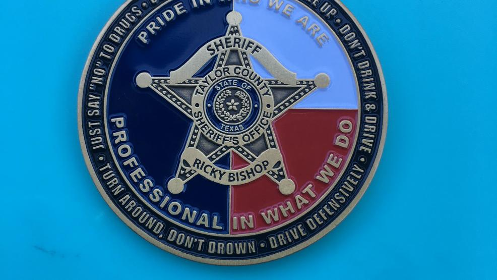 Taylor Co  Sheriff's Office creates Challenge Coins to