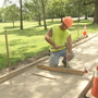 Residents question sidewalk installation at Roger Williams Park