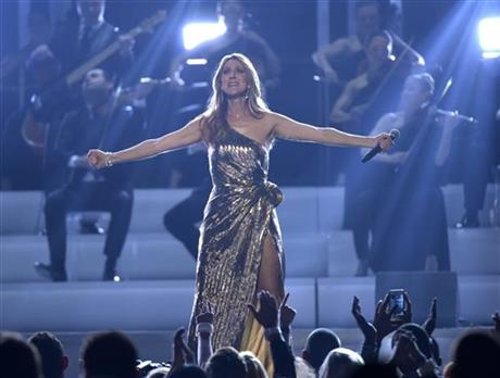 "Celine Dion performs ""The Show Must Go On"" at the Billboard Music Awards at the T-Mobile Arena on Sunday, May 22, 2016, in Las Vegas..jpg"