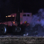 Fiery crash involving several 18-wheelers shuts down westbound Interstate 10