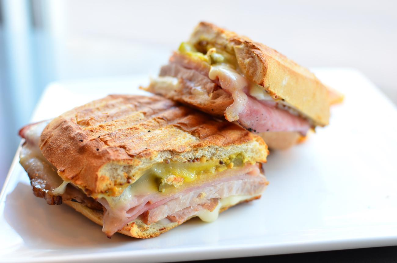 Classic Cuban - pork, ham, sweet pickle, spicy mustard, and swiss cheese / Image: Leah Zipperstein, Cincinnati Refined / Published: 2.23.17