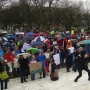 Science advocates rally at RI State House for Earth Day