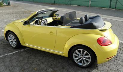 As one of few diesel drop-tops available in the States, the Volkswagen Beetle TDI Convertible is both fun to drive and fuel-efficient, earning up to 41 mpg highway.Base MSRP: $27,895