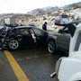 NHP: Eastbound I-80 back open east of Sparks following crash at Mustang