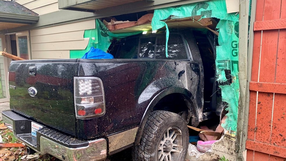 Truck Plows Into Spanaway Home Crashes Into Bunk Bed As Child Laid