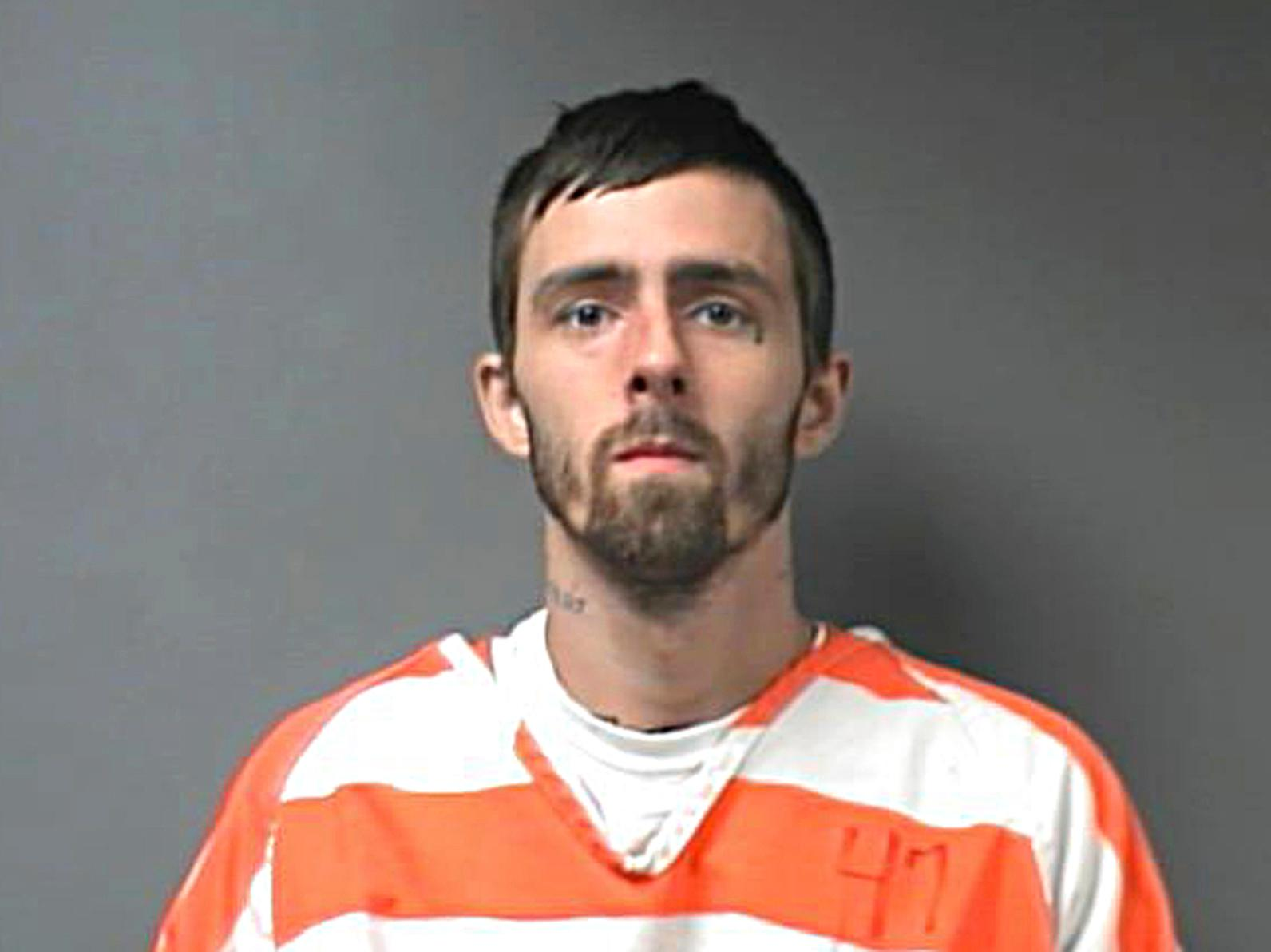 This undated photo made available by the Walker County, Ala., Sheriff's Office, shows Brady Andrew Kilpatrick. A manhunt is underway for Kilpatrick, who escaped with 11 other inmates from the Walter County jail on Sunday, July 30, 2017. All but Kilpatrick have been recaptured. (Walter County Sheriff's Office via AP)