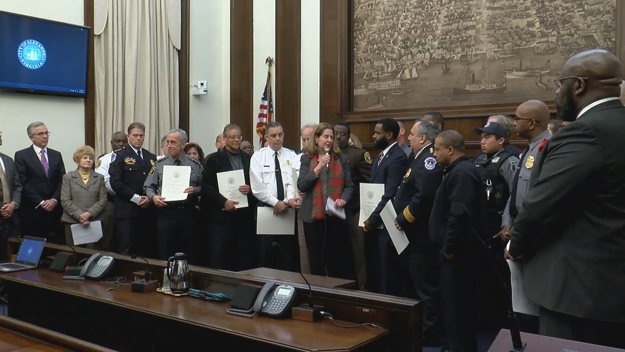 Ballpark shooting first responders honored (ABC7)