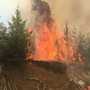 Horse Prairie Fire near Camas Valley now over 2,000 acres, evacuation notices issued