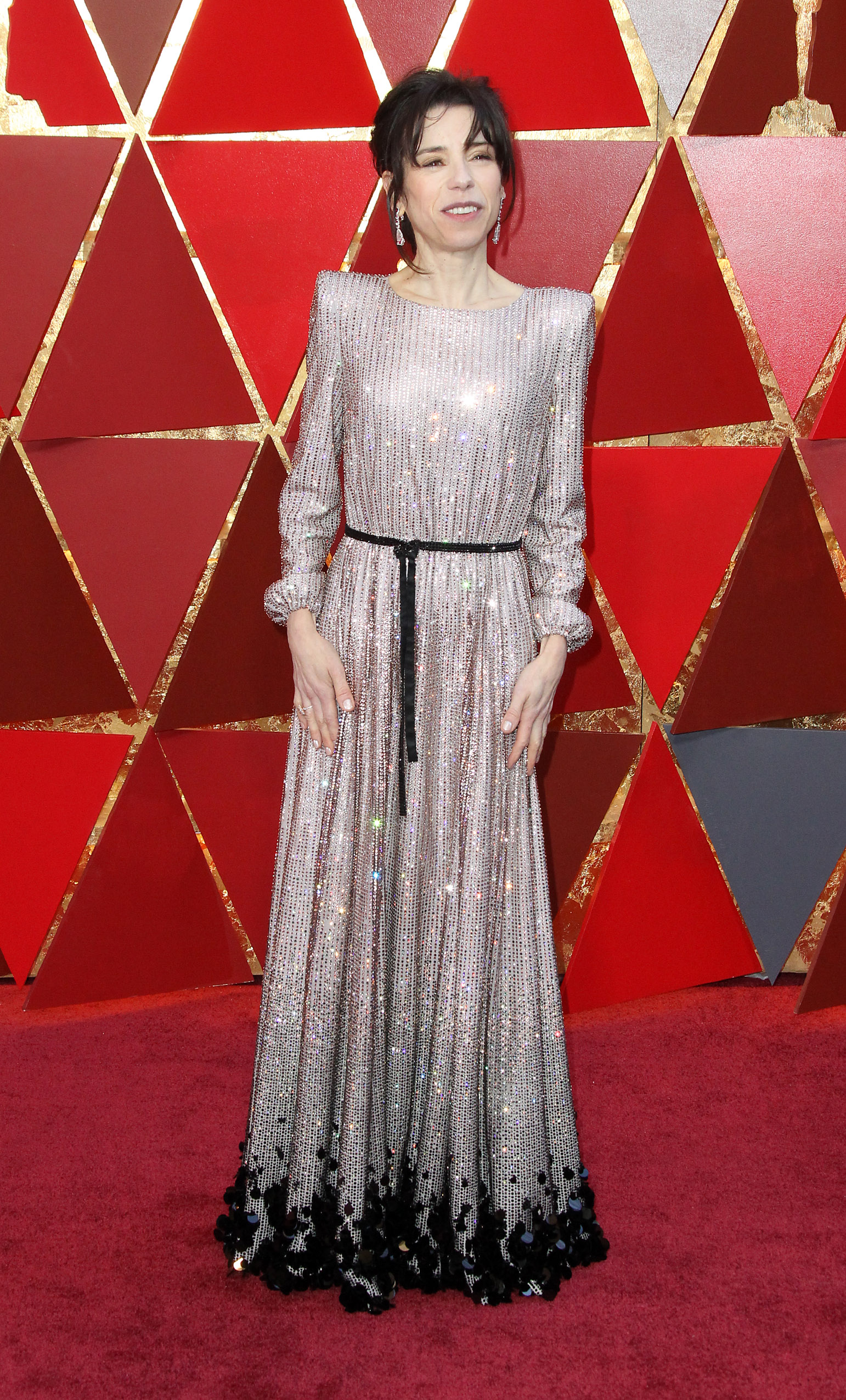 Sally Hawkins        arrives at the 90th Annual Academy Awards (Oscars) held at the Dolby Theater in Hollywood, California. (Image: Adriana M. Barraza/WENN.com)<p></p>