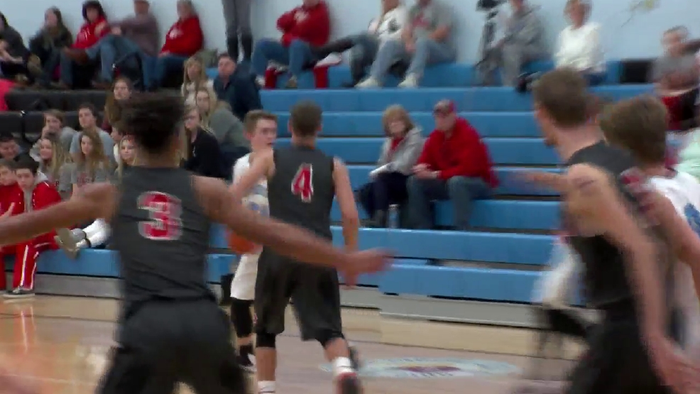 1.6.17 Highlights - River vs Bridgeport - boys basketball