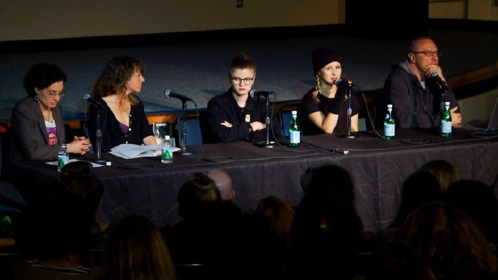 Russian punk rock protest group, Pussy Riot, speaks at UNC Asheville