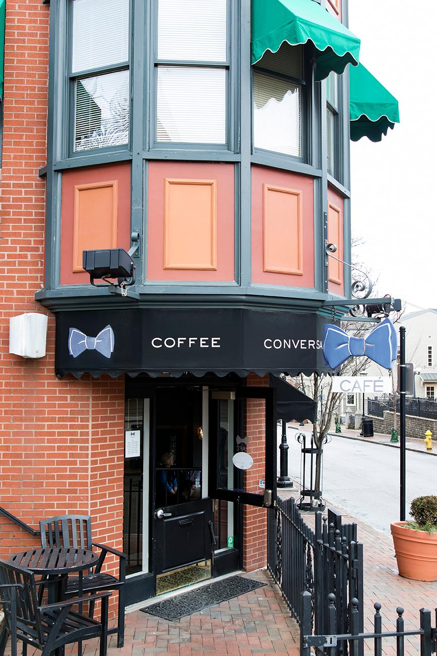Bow Tie Cafe is located in the heart of Mount Adams and offers an assortment of breakfast and lunch goodies that go perfectly with their craft coffee, espresso, and cocktail creations. A recent interior renovation has taken the bistro from faded green hues to mod greys and blues. ADDRESS: 1101 St. Gregory Street (45202) / Image: Allison McAdams // Published: 2.9.19