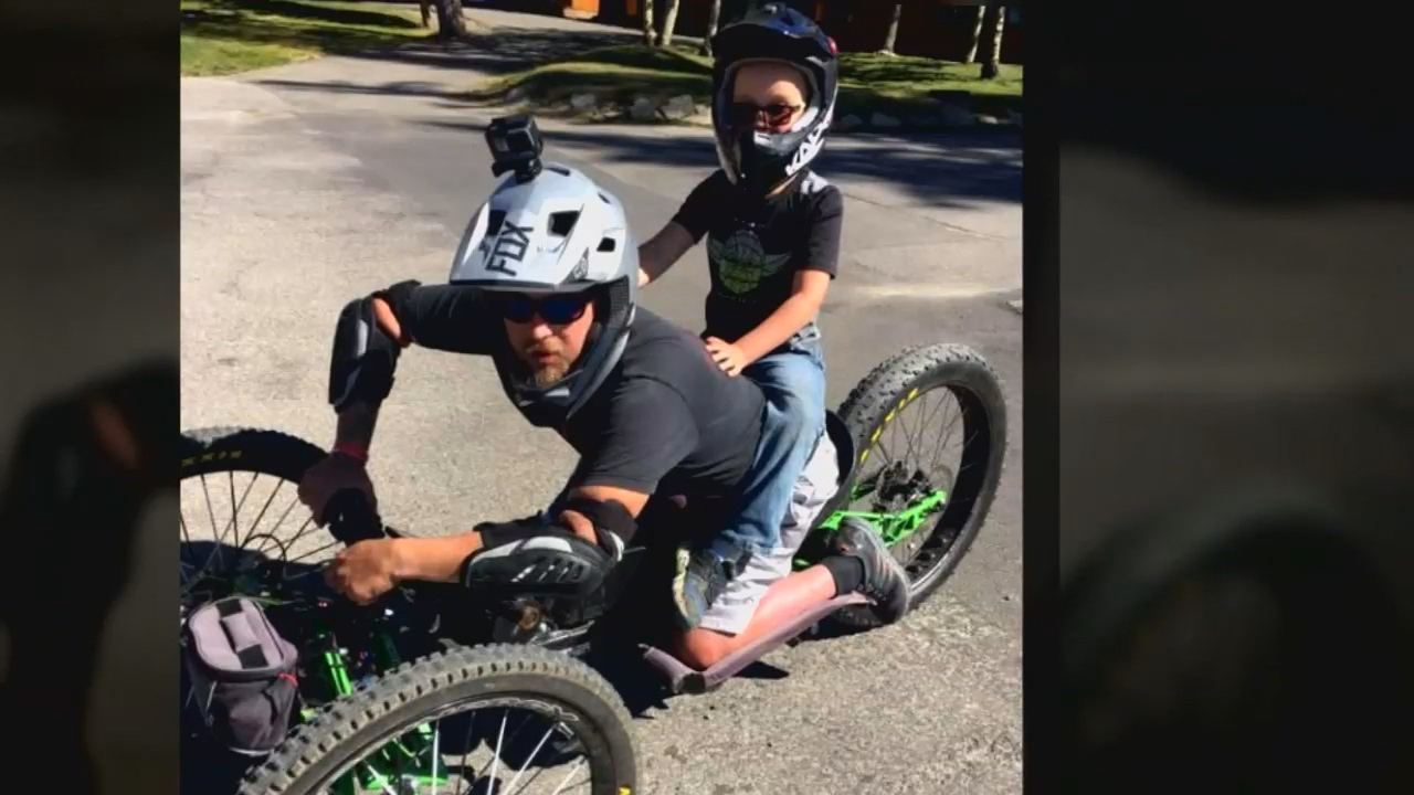 Disabled man pleads for return of stolen custom bike