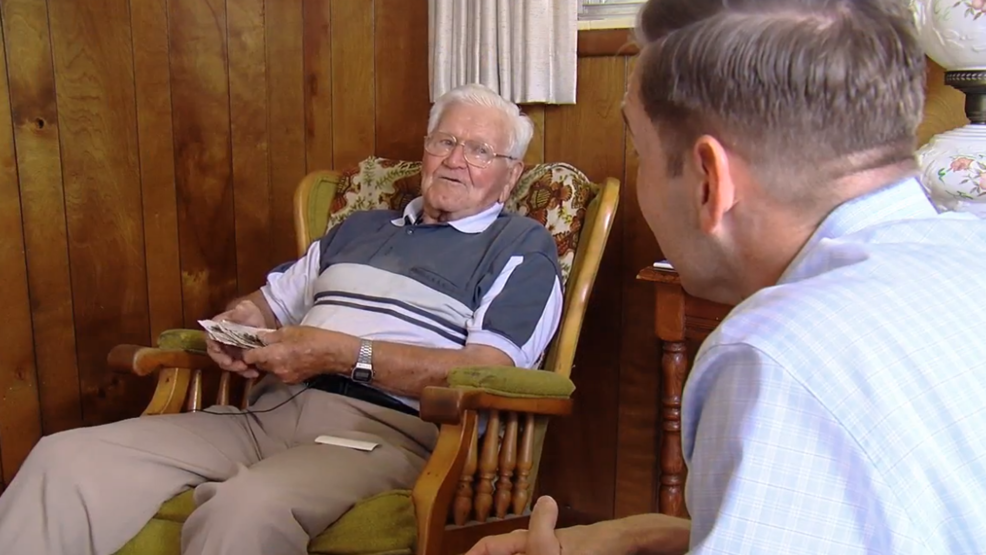 WWII veteran remembers more than three years fighting in North Africa and across Europe