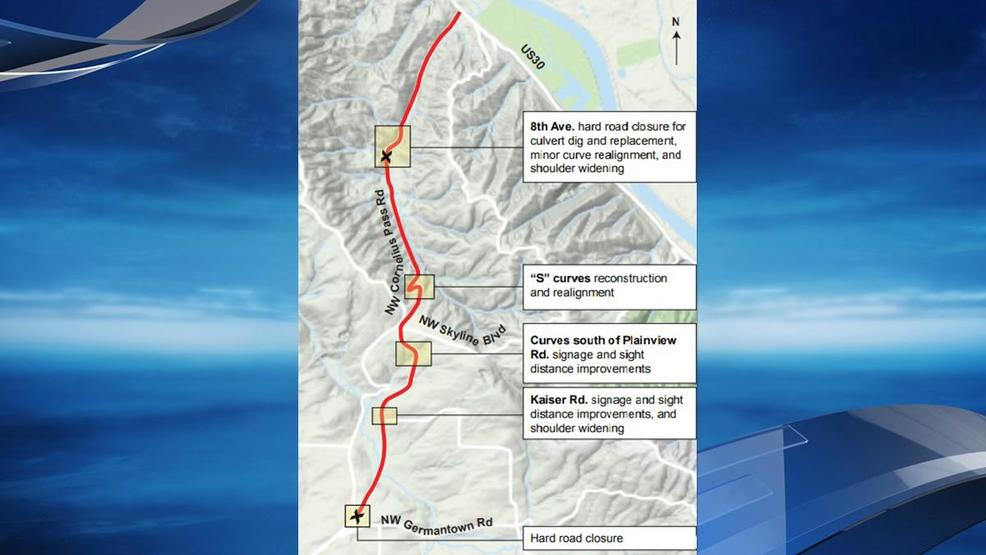 Cornelius P closing Monday for lengthy safety project | KATU on portland traffic, wftv traffic, wkyc traffic, abc news traffic, san clemente traffic, koin traffic, kgw traffic,