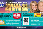 Wheel Watchers: You could win a trip to see Wheel Of Fortune in Hollywood, or audition!
