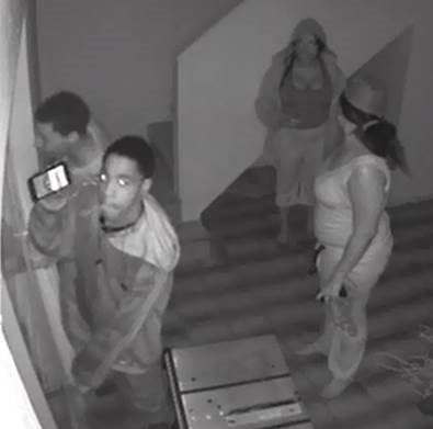Surveillance videos provided by the Alachua County Sheriff's Office.