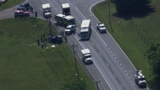3 killed in car crash involving dump truck in Maryland