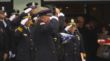 Hundreds gather to honor Officer Crossley
