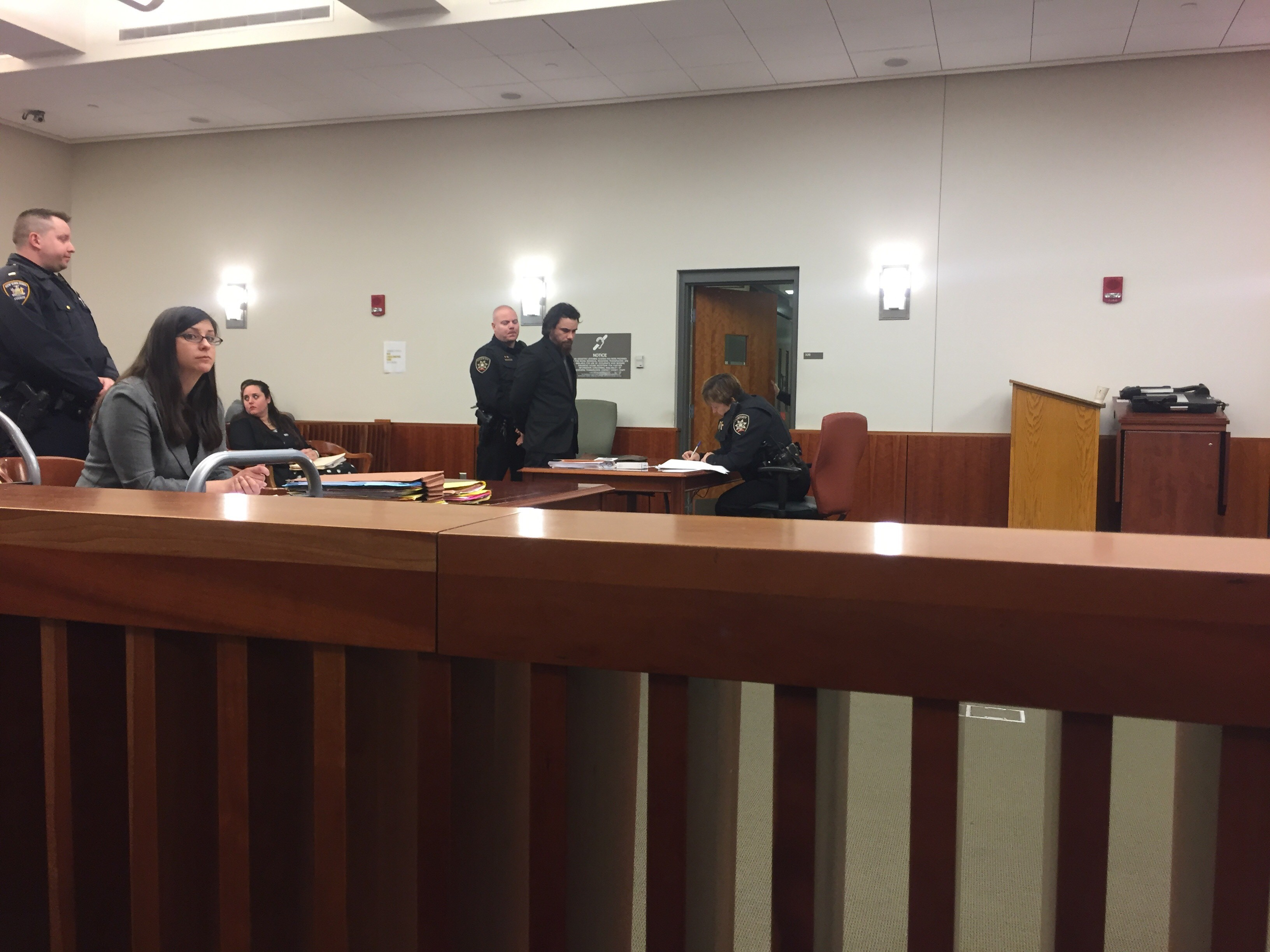 Anthony Saccone appears in court (CNYCentral file photo)