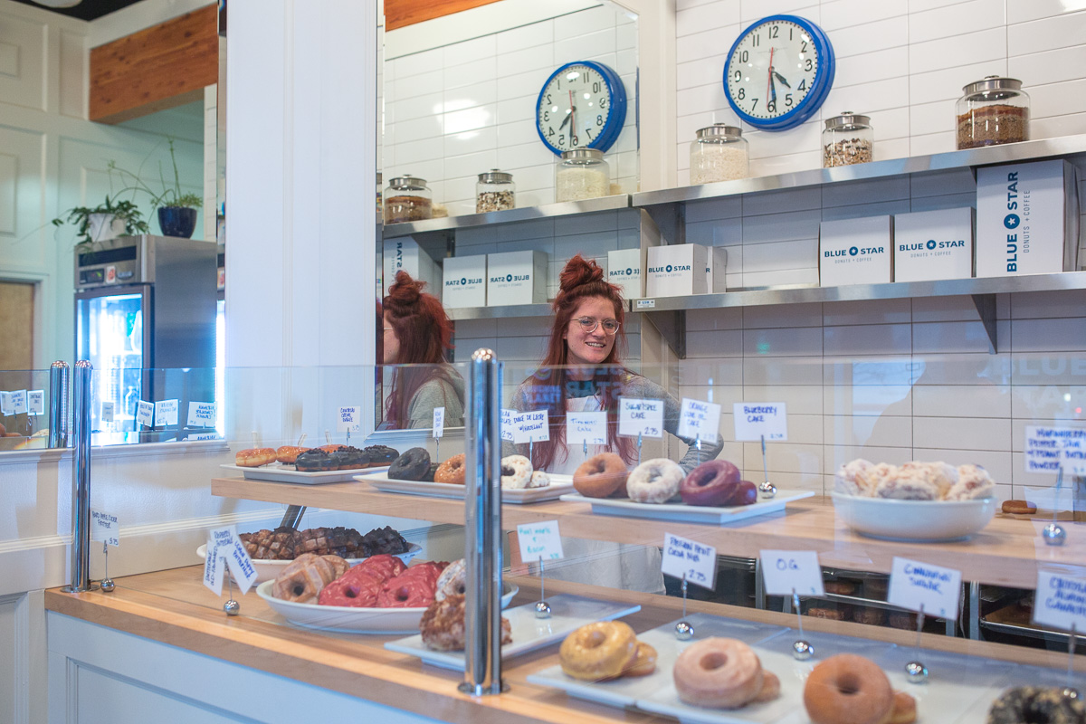 Everyone said that Blue Star Donuts was better than Voodoo. (Image: Paola Thomas / Seattle Refined)