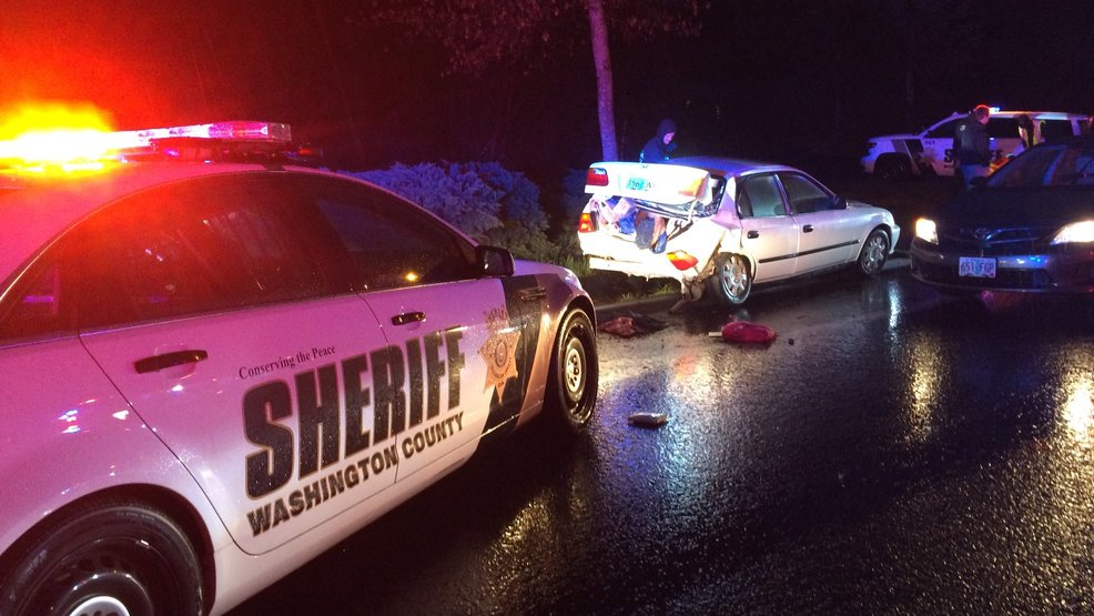 Woman driving stolen car arrested after Washington County chase