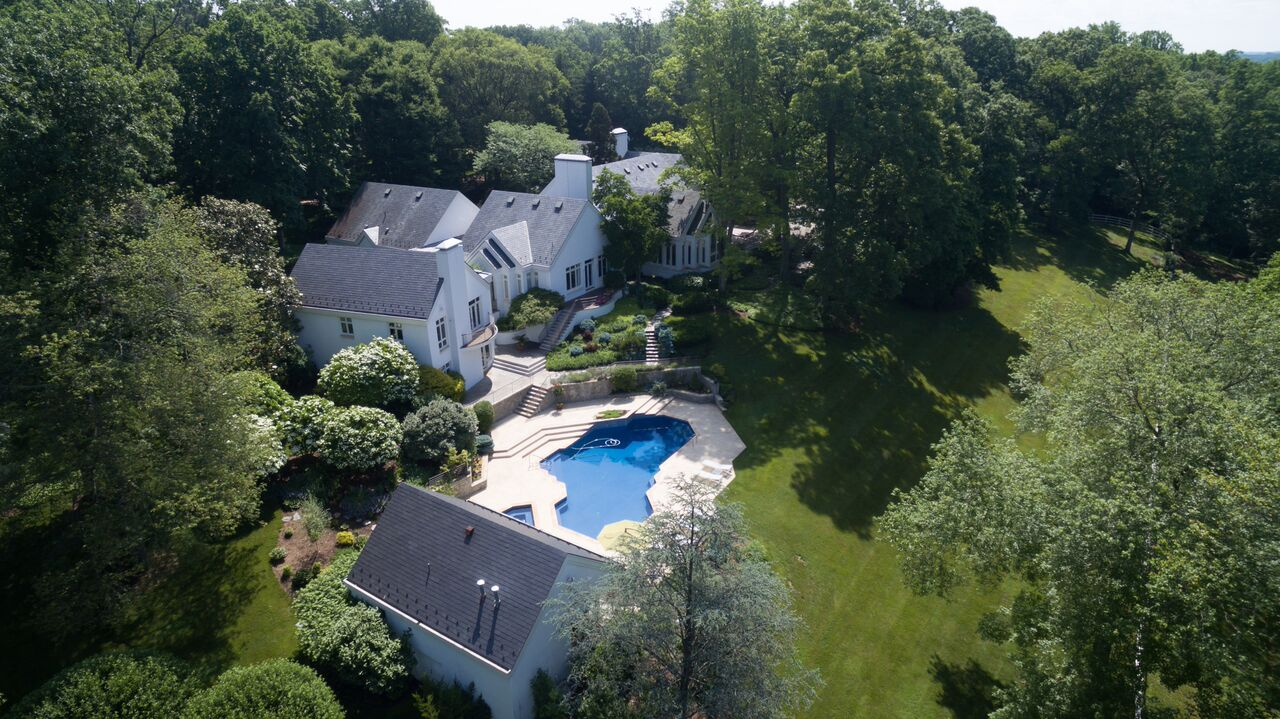 And coming in as the 10th most expensive home sale of 2016 was this seven-bedroom Contemporary house in Potomac. Built in 1985, it sold for $5,450,000 -- way under its $7,995,000 listing price. TTR Sotheby's represented the seller and Long & Foster represented the buyer. (Image: Sean Shanahan)