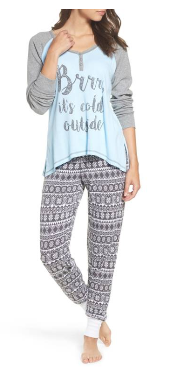 Thermal Pajamas from PJ Salvage, $88 (Image courtesy of Nordstrom)<p></p>