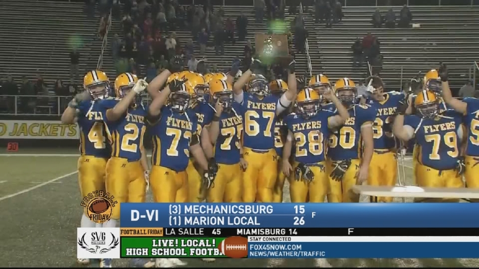 Marion Local knocks off Mechanicsburg in regional final