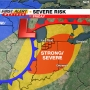 WSBT 22 First Alert Weather: Risk of severe storms Friday