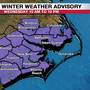Winter Weather Advisory set for Wednesday due to snow chance