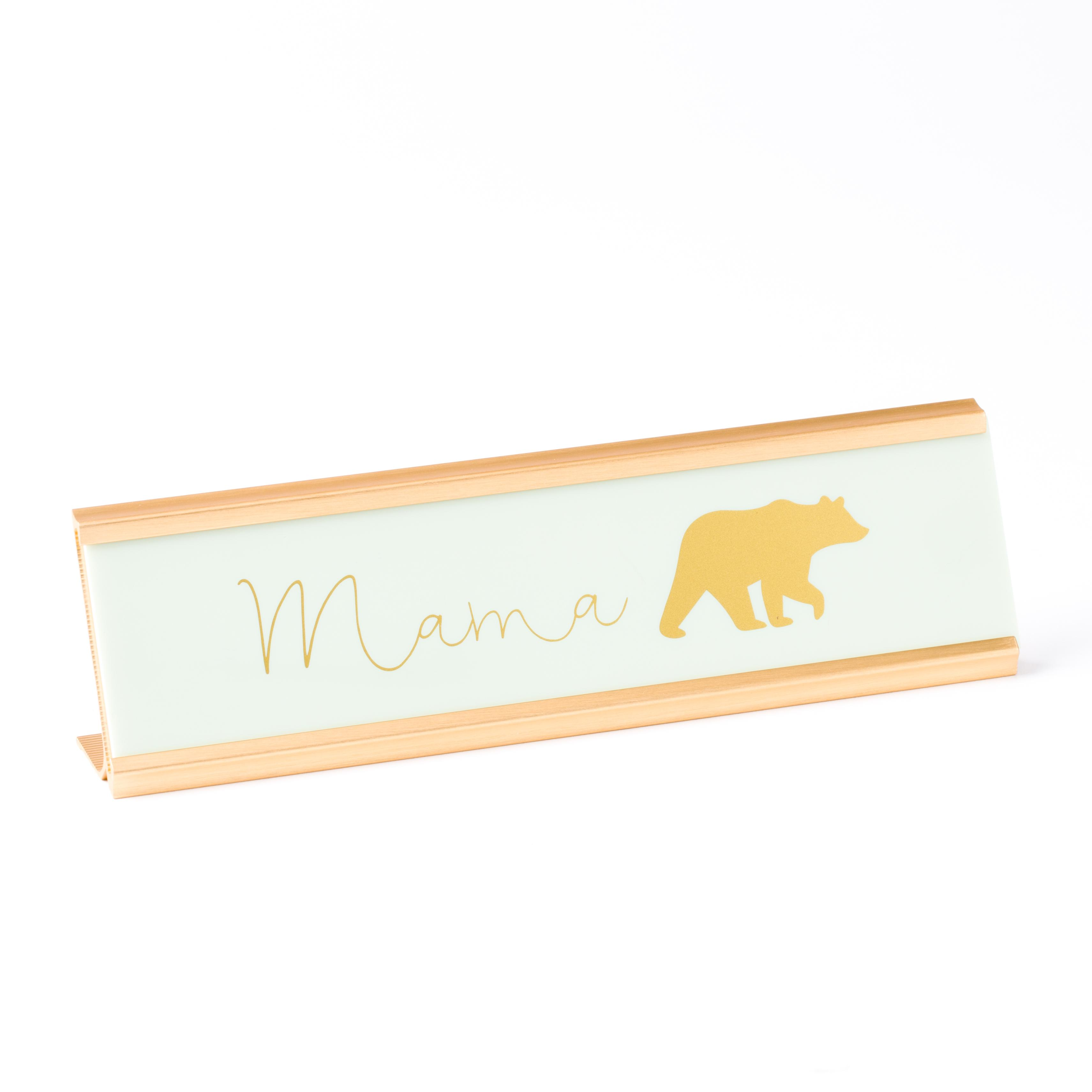 PAPYRUS Mama Bear Desk Plaque // Price: $12.95 // Purchase at PAPYRUS stores // (Photo: PAPYRUS)