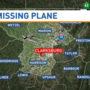 Search under way in West Virginia for missing plane
