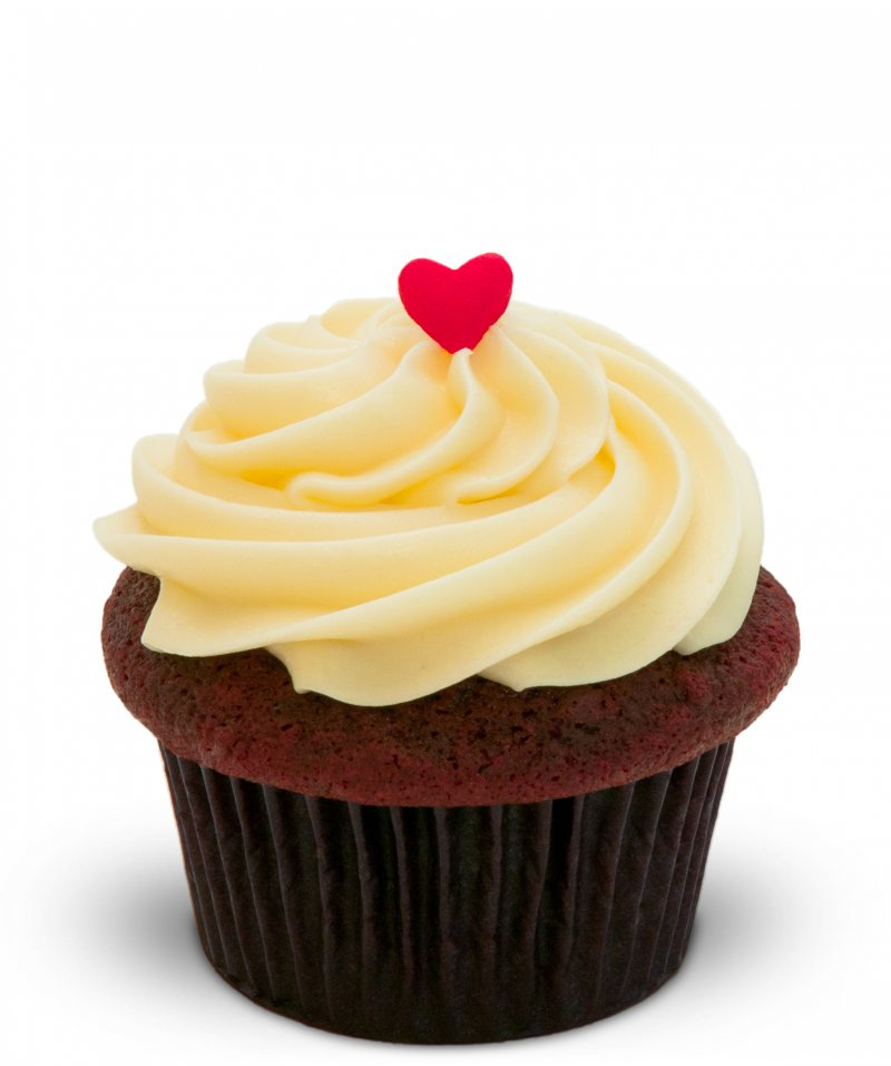 Red Velvet Cupcake{ }(Photo: Trophy Cupcakes)